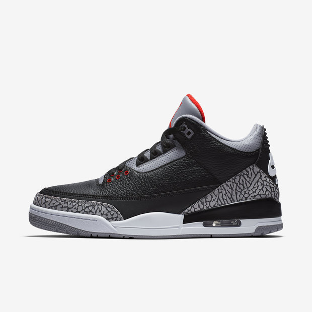 Air Jordan 3 Retro Black Cement 2018