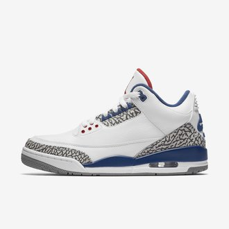 buy popular 68d61 5526c Último hombre zapatos nike air jordan 3 gorratain america azul blanco rojo  venta  air jordan 3 retro true blue