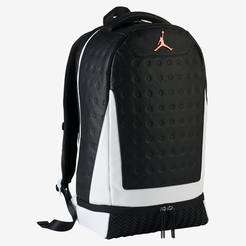 Air Jordan Retro 13 Backpack Black White