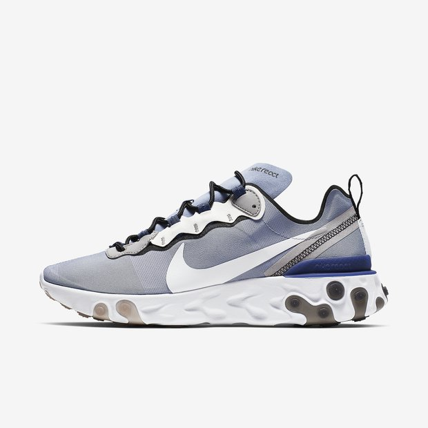 Nike React Element 55 Indigo Fog