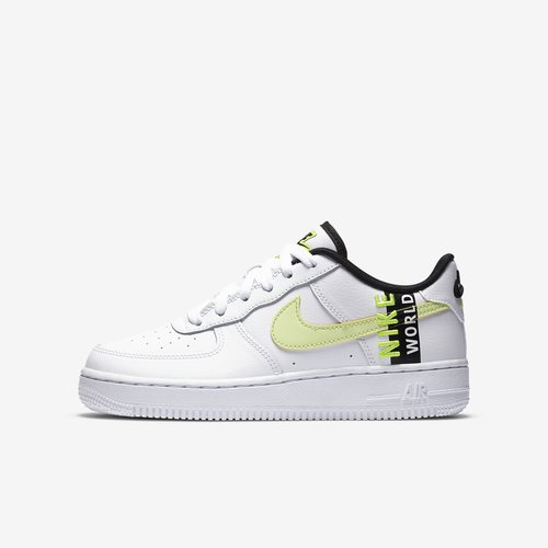 Nike Air Force 1 Low Worldwide White Barely Volt